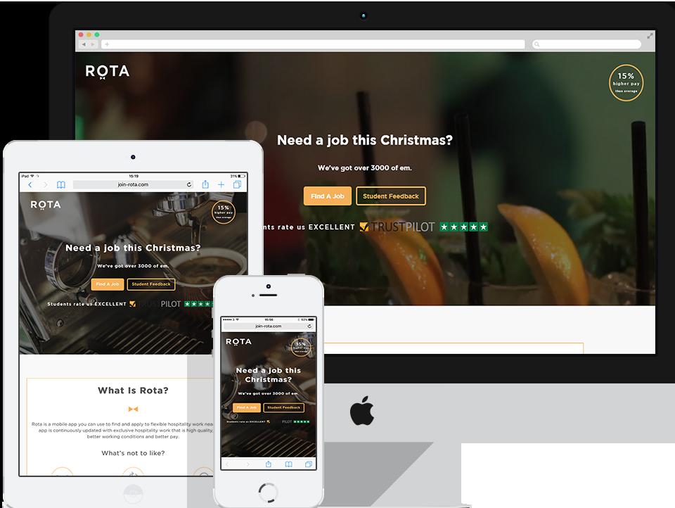 Rota Wordpress Website