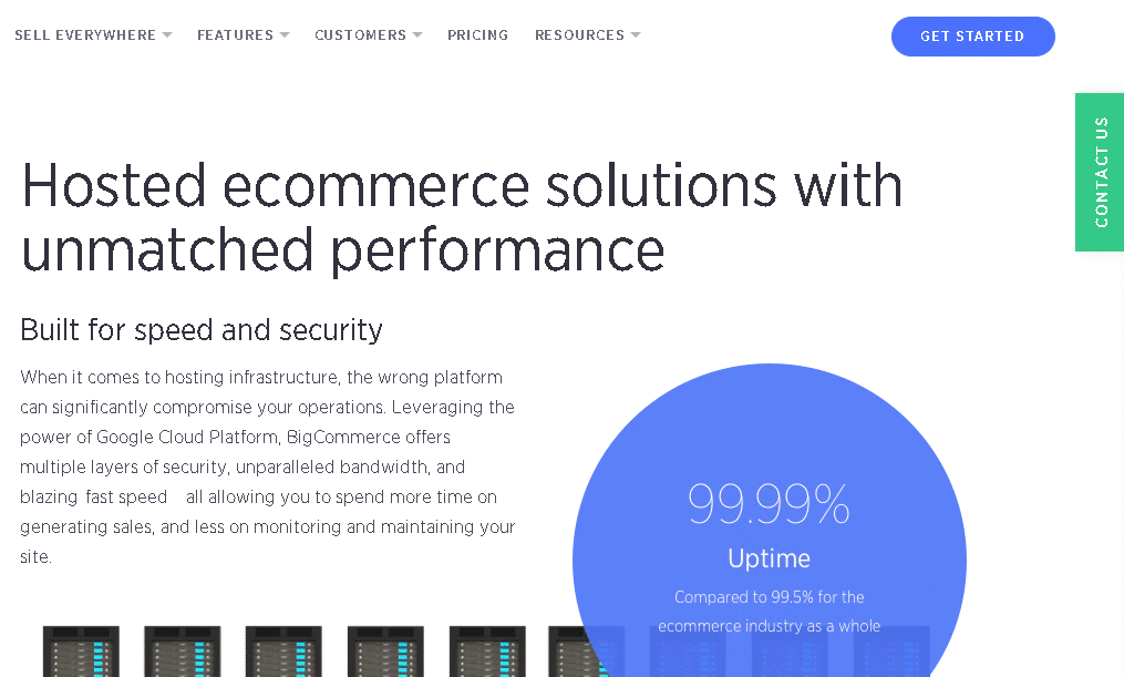 BigCommerce hosting