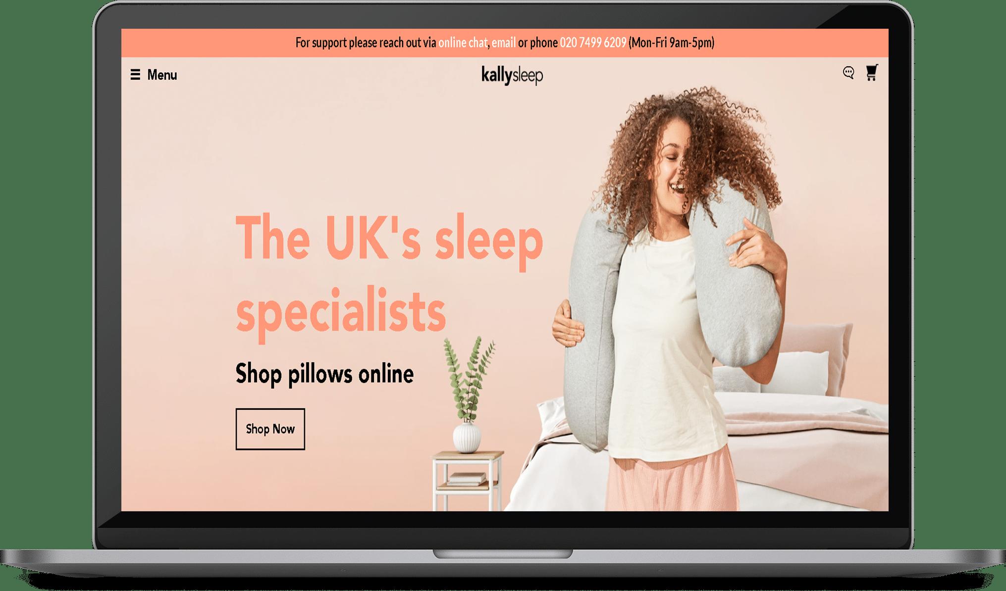 Kallysleep Website